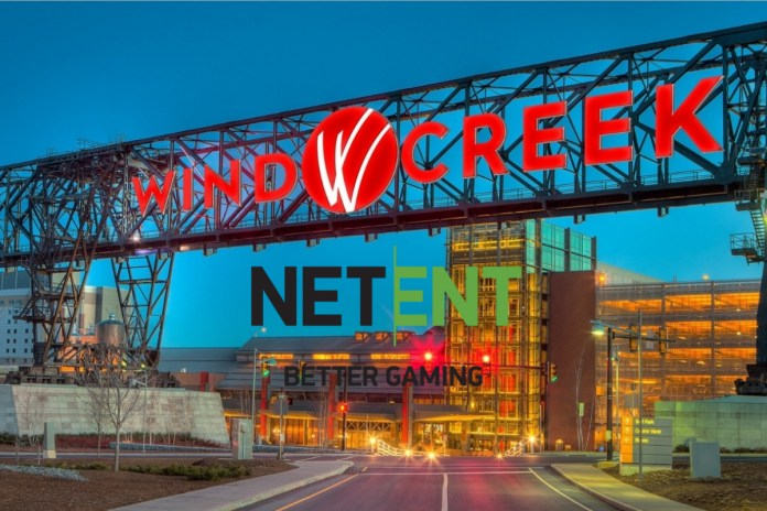 NetEnt cements US footprint with Wind Creek online launch