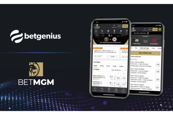 BetMGM unveils new Parlay Builder product for U.S. sports in expanded Genius Sports deal
