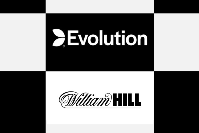 Evolution and William Hill announce partnership for US market