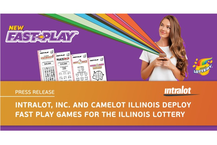 INTRALOT Inc. and Camelot Illinois Deploy Fast Play Games for the Illinois Lottery