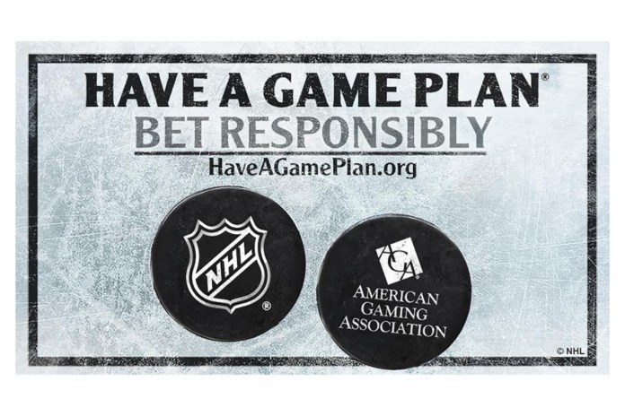 National Hockey League Partners With American Gaming Association to Promote Responsible Gaming