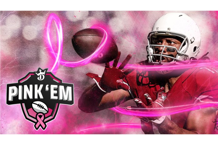 Second-Annual DraftKings Pink 'Em Initiative Raises $113,000 During Breast Cancer Awareness Month