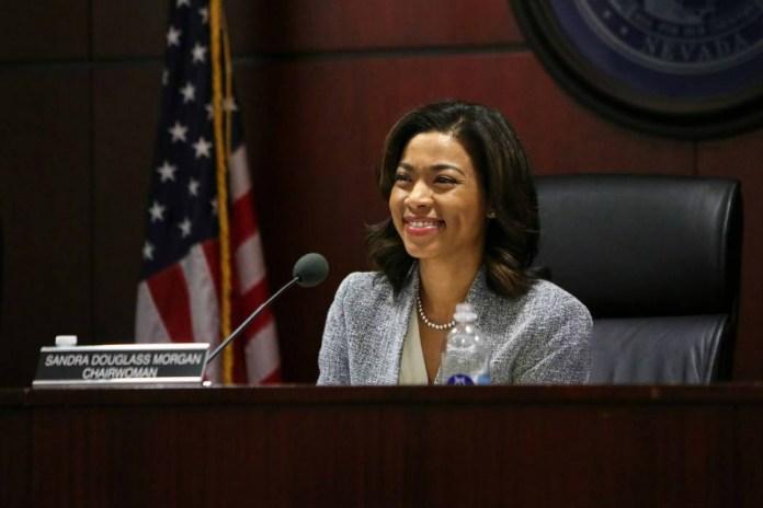 Sandra Douglass Morgan Resigns from Nevada Gaming Control Board