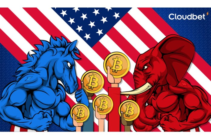 2024 US Presidential Election – Cloudbet Market Movers