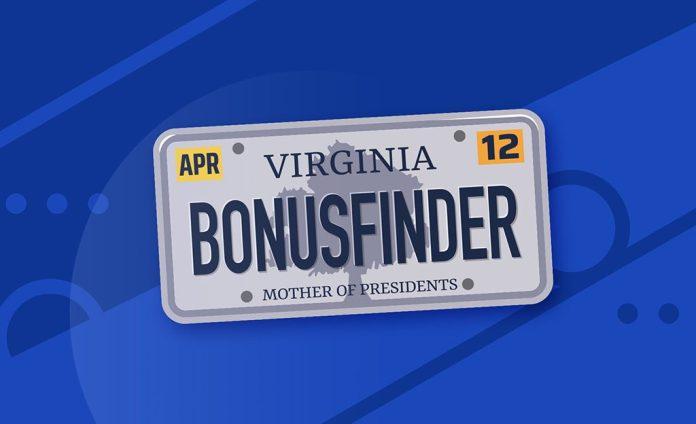 BonusFinder now licensed for Virginia