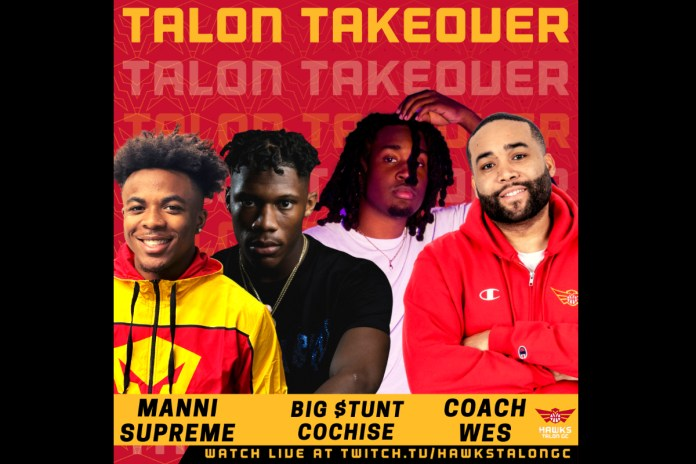 Hawks Talon GC Hosts Live Twitch Stream with Recording Artists Big $tunt and Cochise