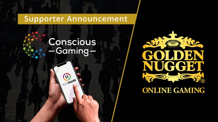 Golden Nugget Online Gaming Partners with Conscious Gaming to Advance Multi State Responsible Gaming via PlayPause