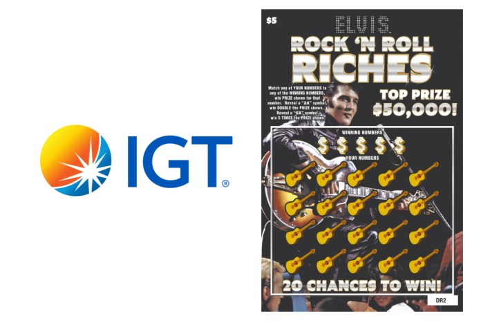 IGT Gains Exclusive Lottery Licensing Rights for Elvis Presley