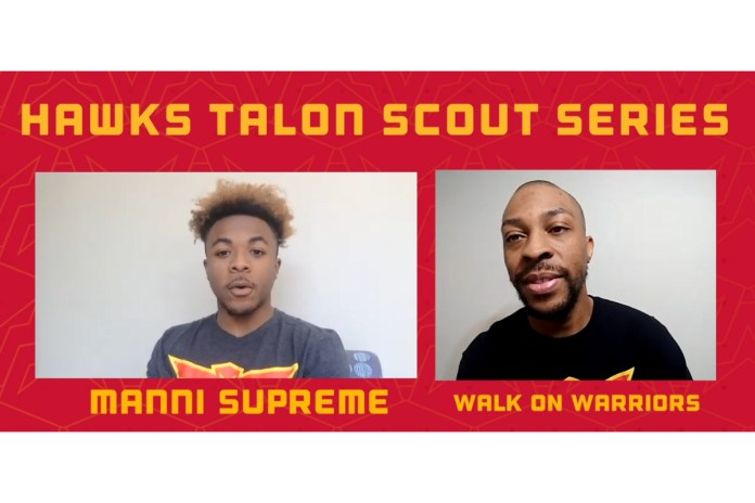 Hawks Talon GC Scout Xavier Daniel (WalkOnWarriors) Answers Questions Before 2021 NBA 2K League Draft on Saturday, March 13
