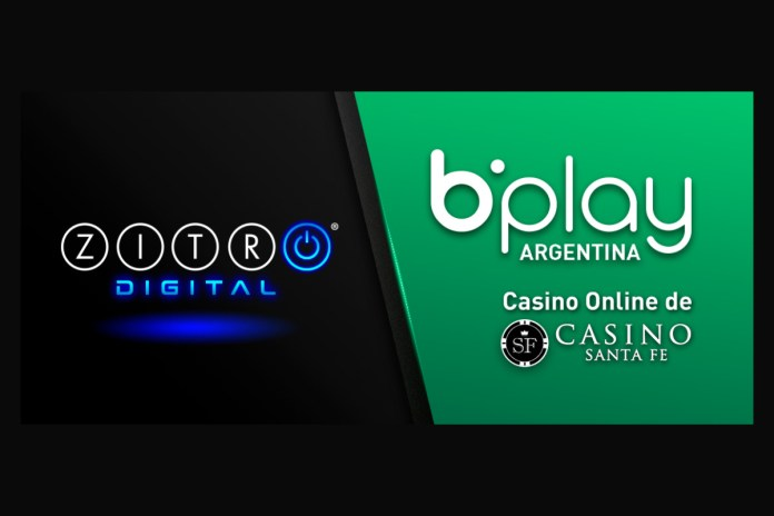 ZITRO DIGITAL GAMES SUCCEED ON BPLAY.COM.AR, THE ONLINE OFFER OF CASINO DE SANTA FE