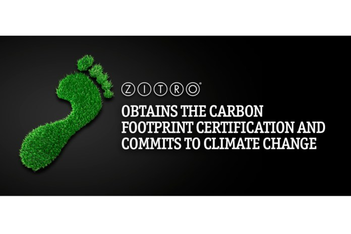 Zitro Obtains the Carbon Footprint Certification and Commits to Climate Change