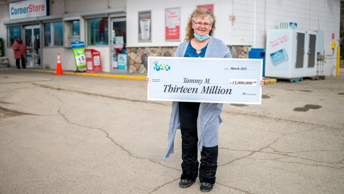 No April Fool's: McBride Woman who Scoops Up $13-Million Jackpot Playing Lotto Max