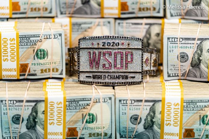 2021 World Series of Poker® Main Event ® Media Credential Application NOW OPEN