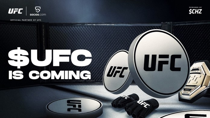 UFC® AND CHILIZ PARTNER TO LAUNCH UFC FAN TOKEN ON SOCIOS.COM