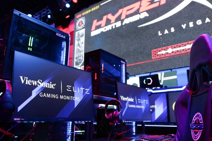 Allied Esports Names ViewSonic Official Gaming Monitor and Official Streamer Room Partner of HyperX Esports Arena Las Vegas