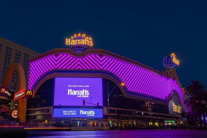 Harrah's Completes $200M Renovation of Las Vegas Strip Property