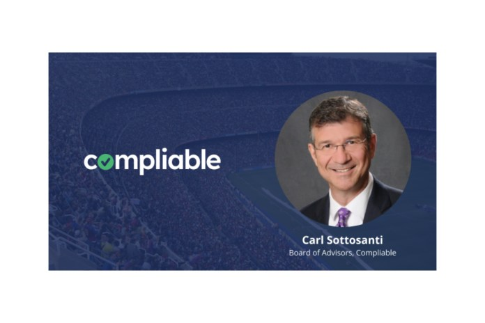 Industry veteran Carl Sottosanti joins licensing expert Compliable's advisory board