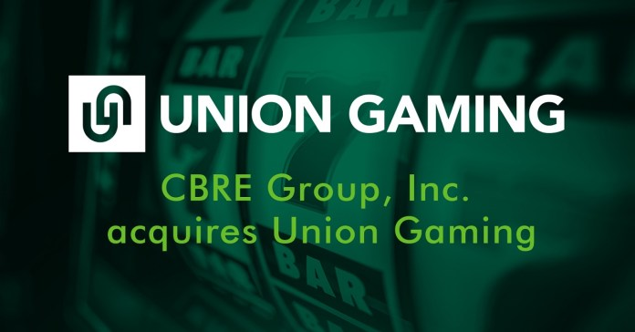 CBRE Group, Inc. Acquires Union Gaming