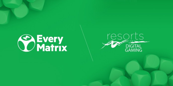 EveryMatrix pens agreement with Resorts Digital Gaming to distribute casino content in the U.S.