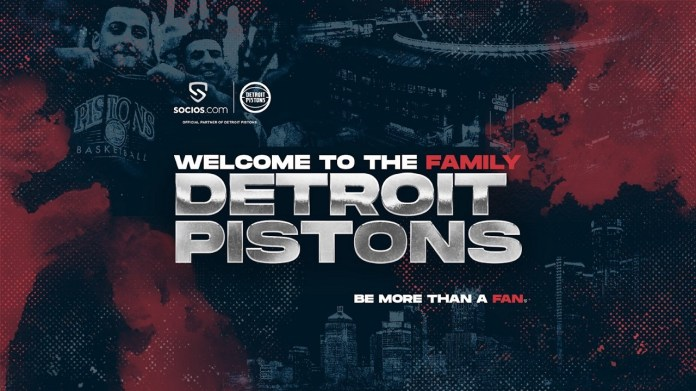 Detroit Pistons Join Socios.Com's Global Fan Engagement Network