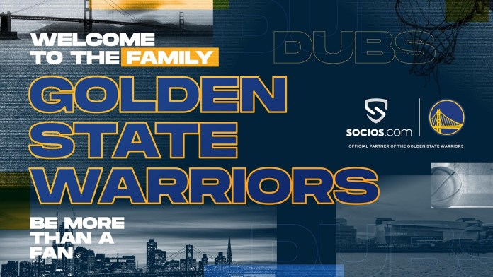 Golden State Warriors Join Socios.Com's Global Fan Engagement Network