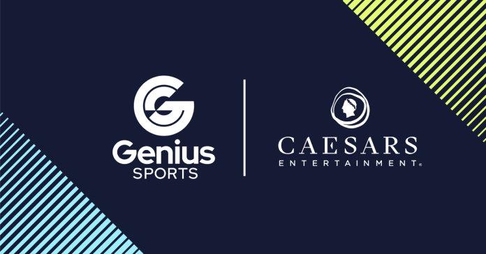 Caesars Entertainment and Genius Sports Strike Major NFL, Official Sports Data, and Fan Engagement Partnership
