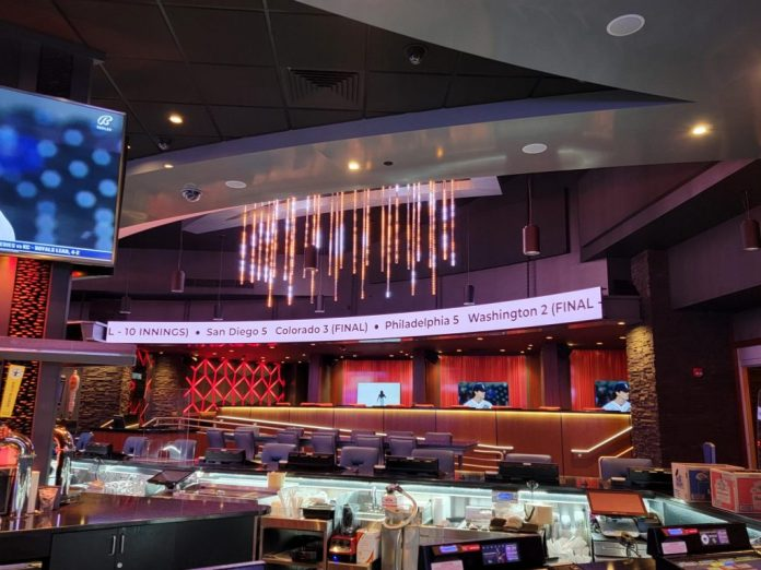 JCM Global Brings Sports Betting Experience to Soaring Eagle Casino with Custom Digital Signage Solutions Installation