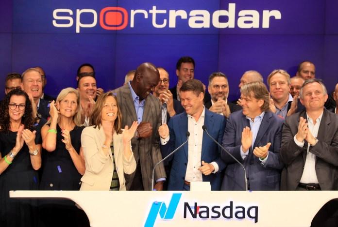 Sportradar Completes IPO, Rings Opening Bell at NASDAQ