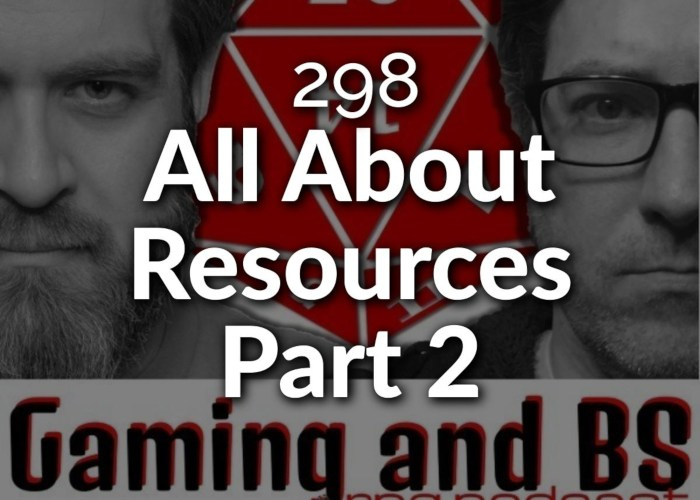 all about resources rpg