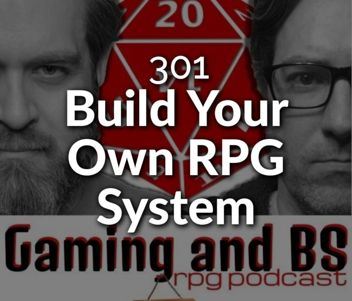 build your own rpg system