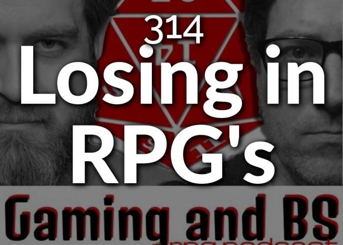 losing in rpg's