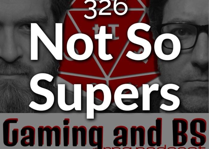 album art ep 326 not so supers