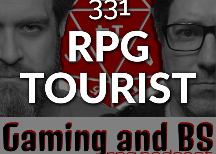 episode 331 rpg tourist album art