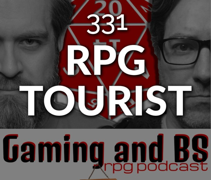 episode 331 rpg tourist album art