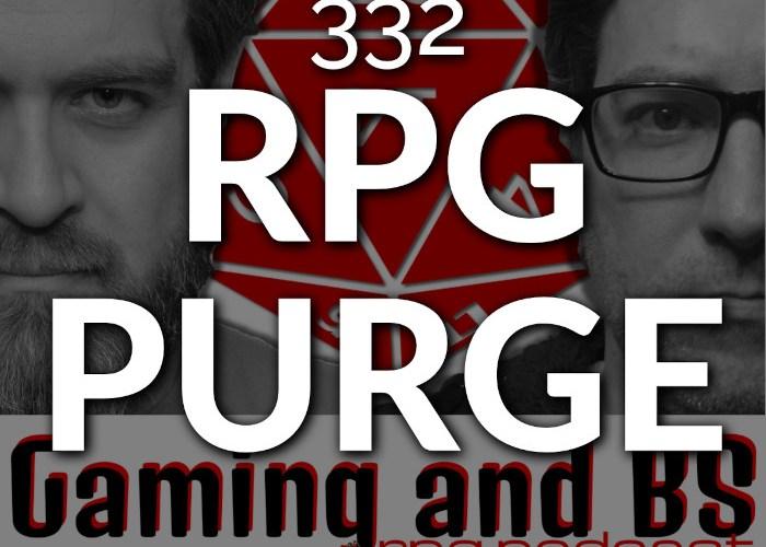 rpg purge album art ep 332