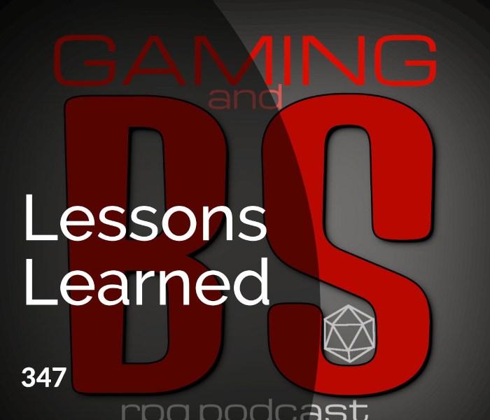 lessons learned running rpgs art