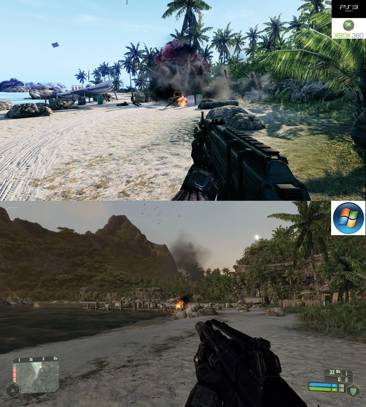 Crysis Console Vs PC Comparison Which Version Looks Better