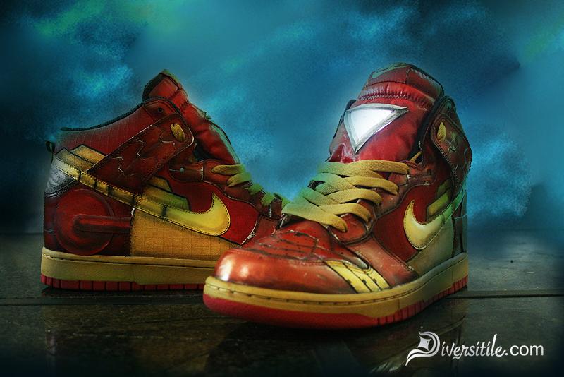 Cool Iron Man Sneakers Will Make You Feel Like A Super Hero