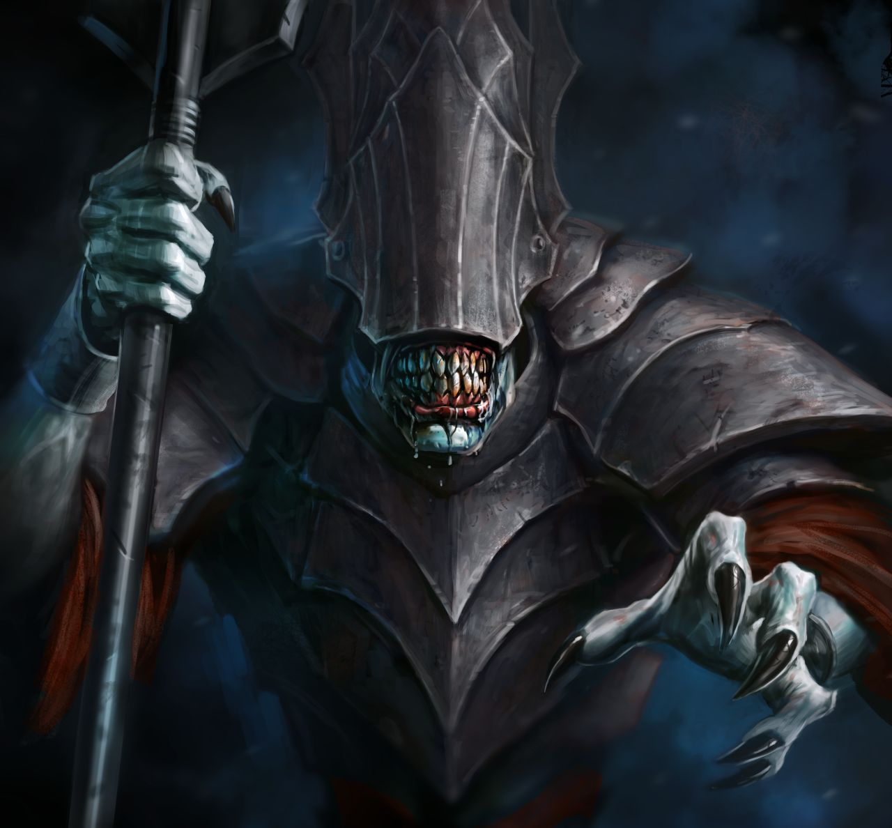 Guardians Of Middle Earthmouth Of Sauron