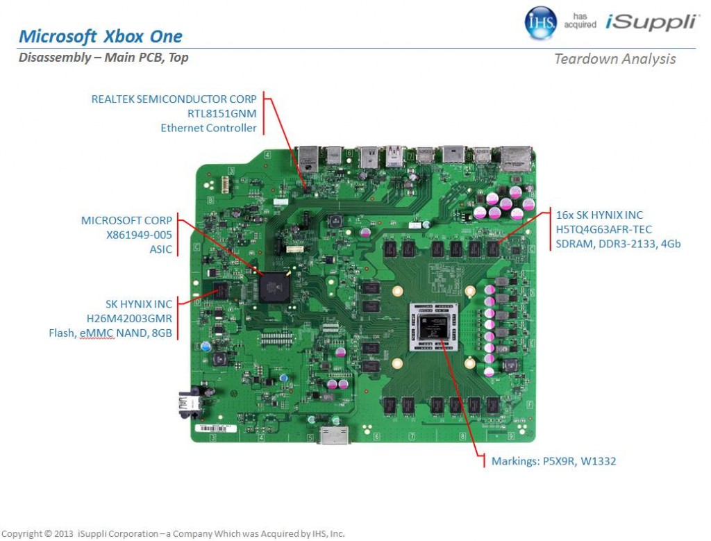 Inside The Xbox One Motherboard Components Explained