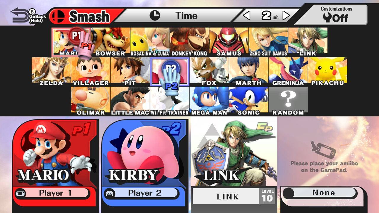 Super Smash Bros Wii U Features Mii Characters As
