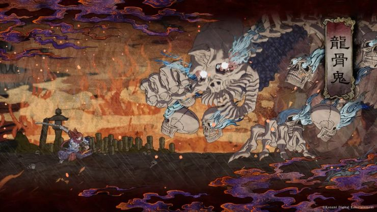 GetsuFumaDen: Undying Moon konami juego indie