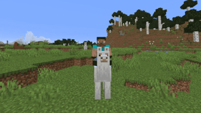 How to tame a llama in Minecraft