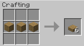 How to make a barrel in Minecraft