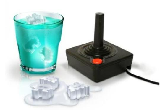 Space Invaders fürs kalte Getränk. (Foto: Amazon)