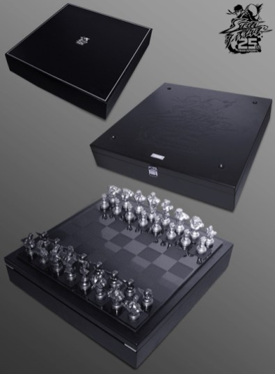 Das Street Fighter Schachspiel. (Foto: Capcom)