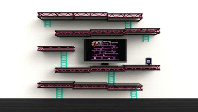 Das Donkey Kong-Bücherregal. (Foto: igorchak.com)