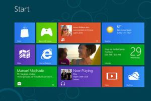 Windows 8 - auch für Spieler ein Thema. (Foto: Microsoft)