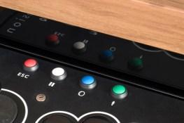 Buttons für die Kontrolle. (Foto: surface-tension.net)
