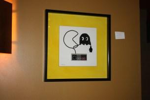 Pac-Man und Geist als Kunst. (Foto: iri5)
